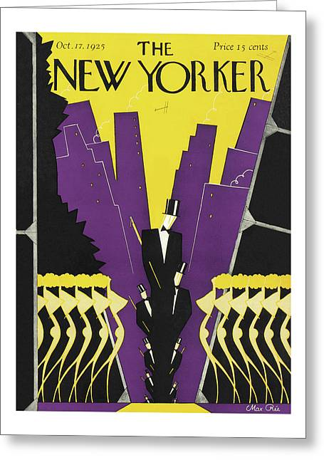 New Yorker October 17th, 1925 Greeting Card