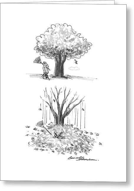 New Yorker October 17th, 1988 Greeting Card