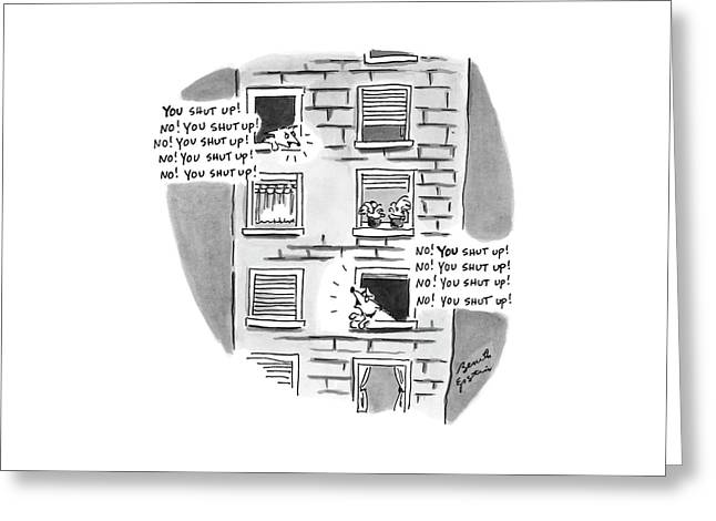 New Yorker October 18th, 1999 Greeting Card