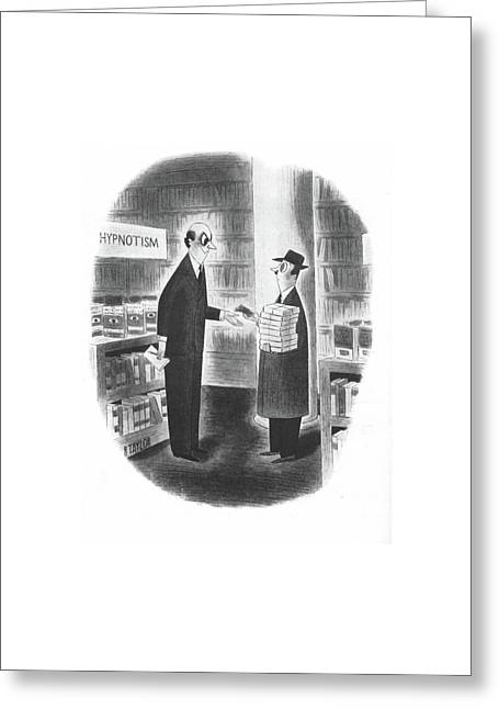 New Yorker October 19th, 1940 Greeting Card by Richard Taylor