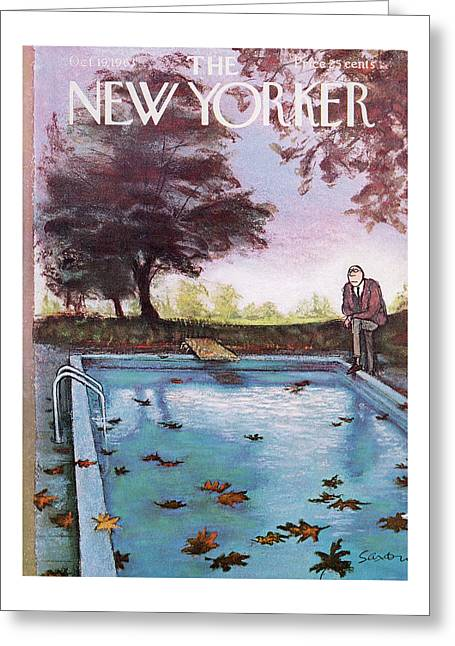 New Yorker October 19th, 1963 Greeting Card