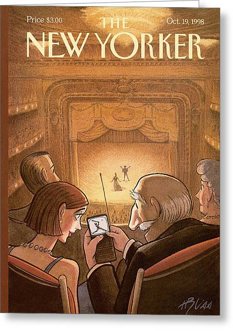 New Yorker October 19th, 1998 Greeting Card