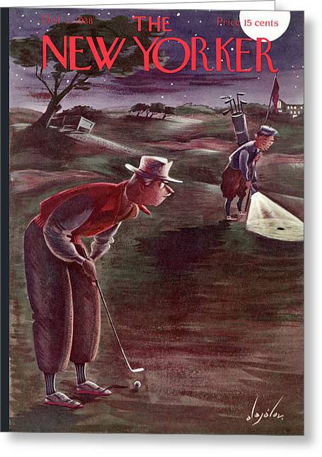 New Yorker October 1st, 1938 Greeting Card
