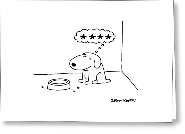 New Yorker October 20th, 1986 Greeting Card by Charles Barsotti