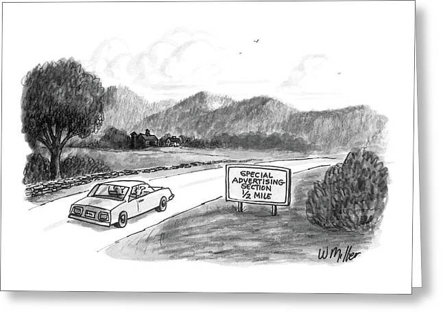 New Yorker October 20th, 1986 Greeting Card