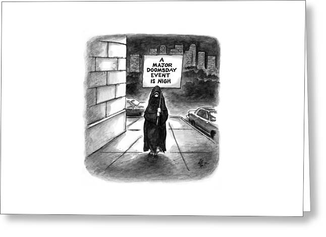 New Yorker October 20th, 1997 Greeting Card by Frank Cotham