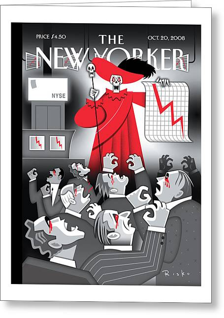 New Yorker October 20th, 2008 Greeting Card