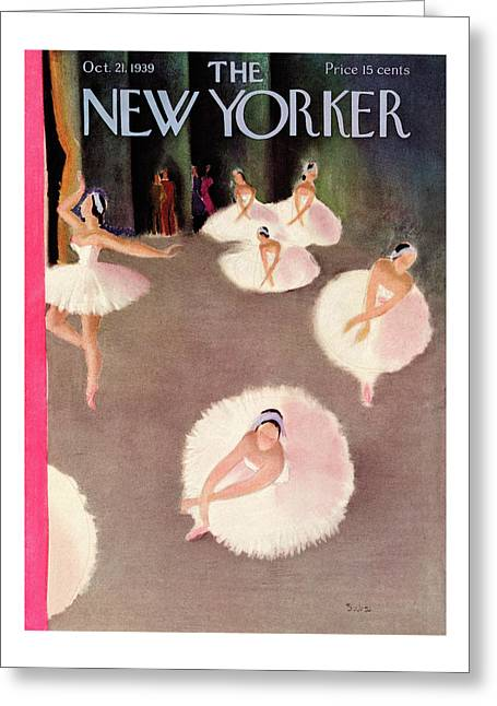 New Yorker October 21st, 1939 Greeting Card