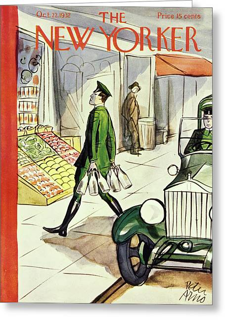 New Yorker October 22 1932 Greeting Card