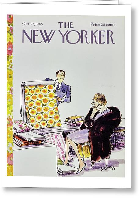 New Yorker October 23rd 1965 Greeting Card