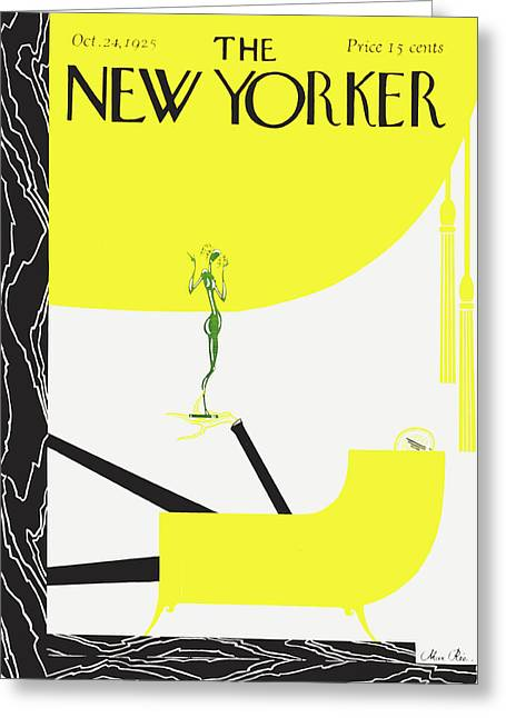 New Yorker October 24 1925 Greeting Card