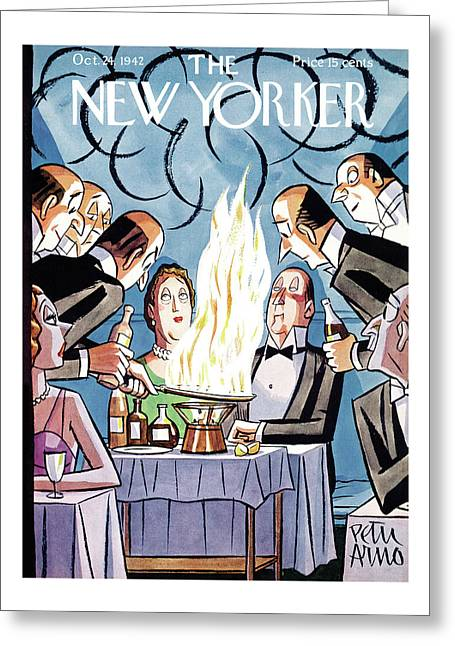 New Yorker October 24th, 1942 Greeting Card
