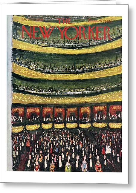 New Yorker October 24th, 1959 Greeting Card