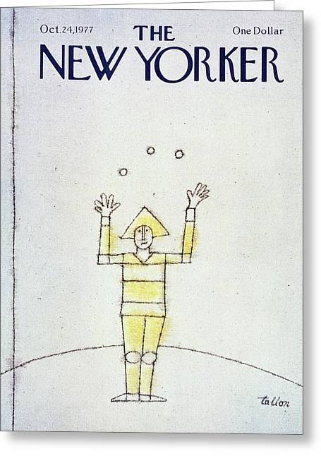 New Yorker October 24th 1977 Greeting Card