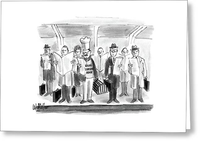 New Yorker October 24th, 1988 Greeting Card