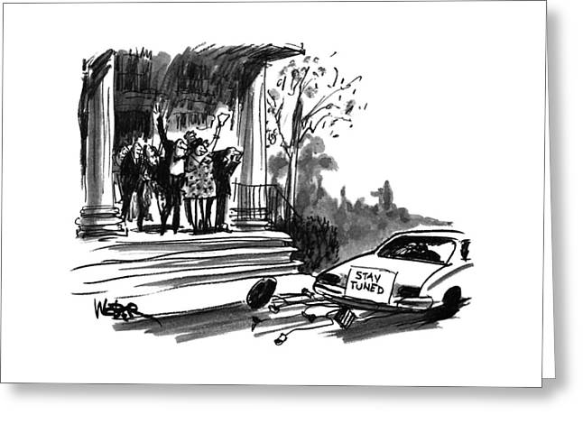 New Yorker October 24th, 1994 Greeting Card