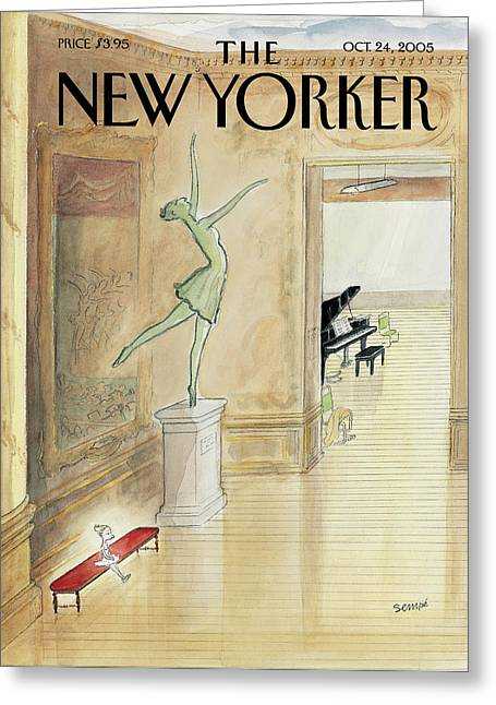 New Yorker October 24th, 2005 Greeting Card