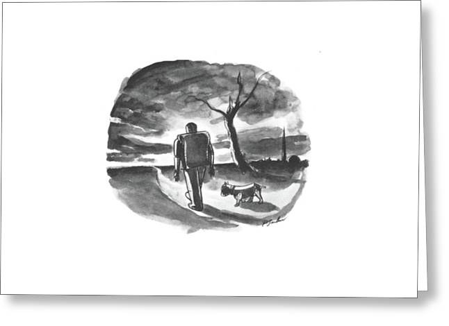 New Yorker October 26th, 1940 Greeting Card by Perry Barlow