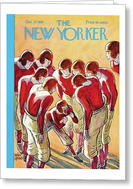 New Yorker October 27th, 1928 Greeting Card