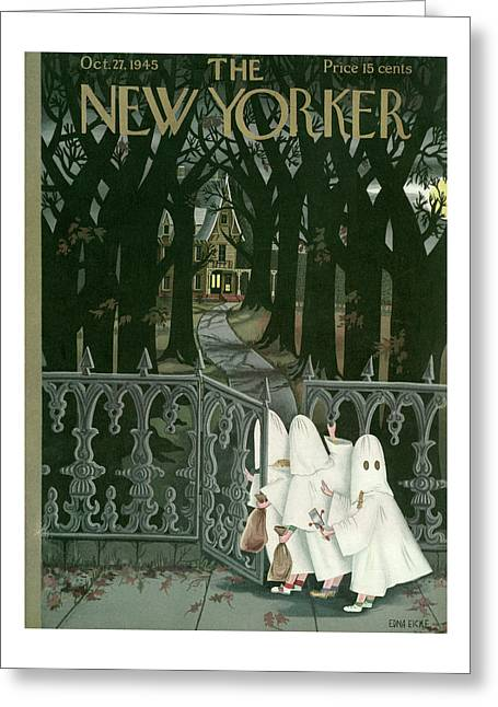 New Yorker October 27th, 1945 Greeting Card