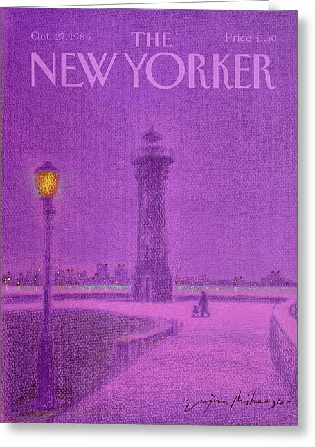 New Yorker October 27th, 1986 Greeting Card