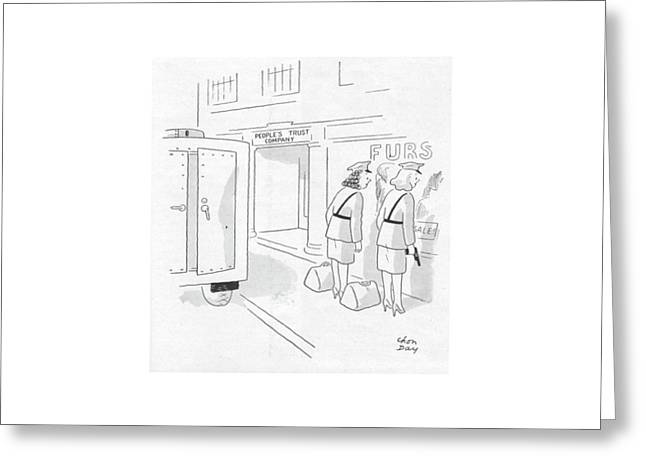 New Yorker October 28th, 1944 Greeting Card