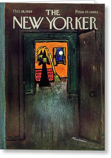 New Yorker October 28th 1967 Greeting Card
