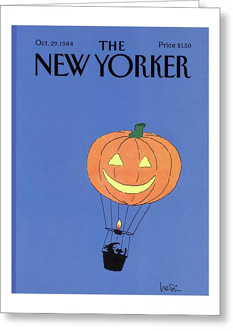 New Yorker October 29th, 1984 Greeting Card