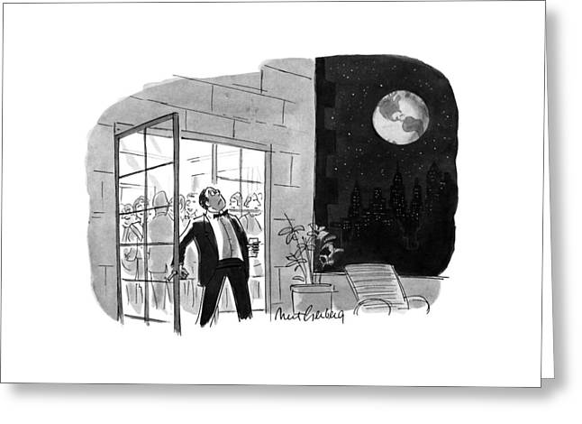 New Yorker October 29th, 1990 Greeting Card