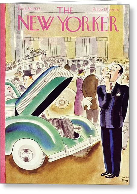 New Yorker October 30 1937 Greeting Card