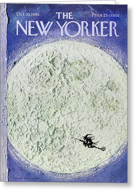 New Yorker October 30th 1965 Greeting Card