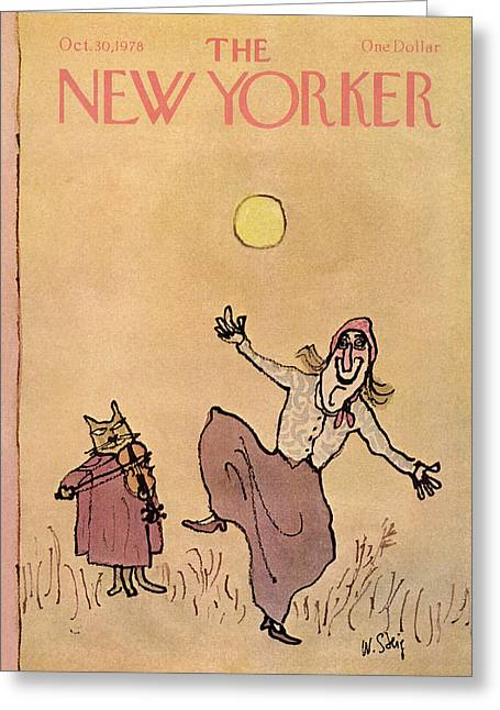 New Yorker October 30th, 1978 Greeting Card
