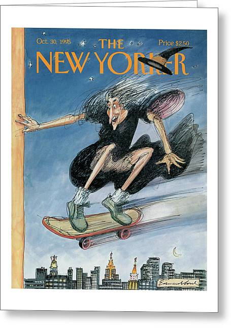 New Yorker October 30th, 1995 Greeting Card