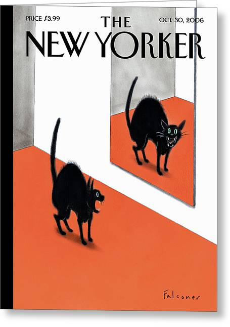 New Yorker October 30th 2006 Greeting Card