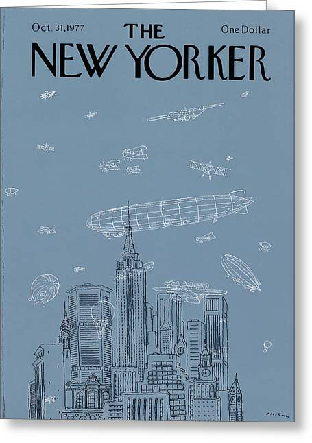 New Yorker October 31st, 1977 Greeting Card