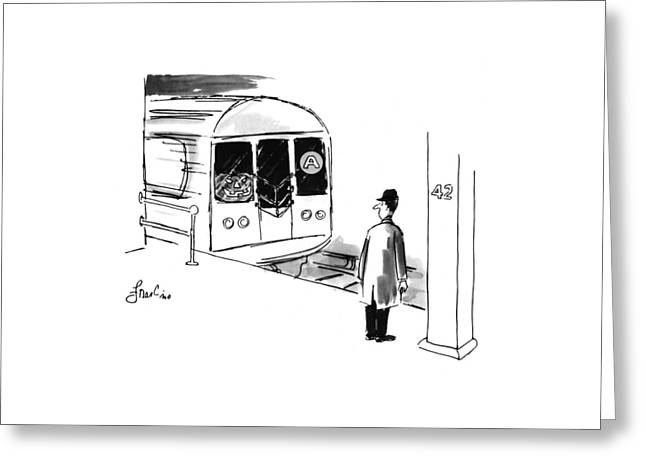 New Yorker October 31st, 1994 Greeting Card by Edward Frascino