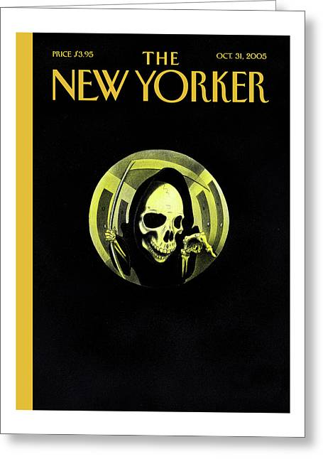 New Yorker October 31st, 2005 Greeting Card
