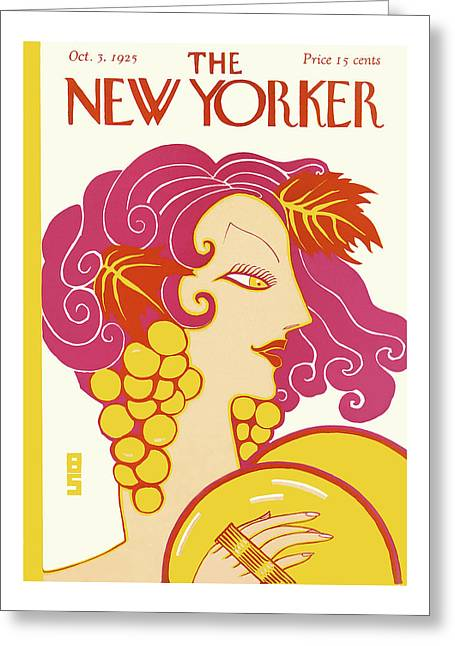 New Yorker October 3rd, 1925 Greeting Card