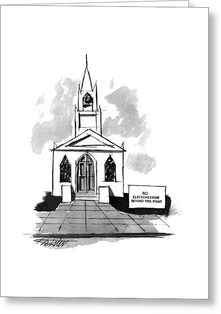 New Yorker October 3rd, 1994 Greeting Card