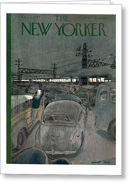 New Yorker October 4th, 1947 Greeting Card