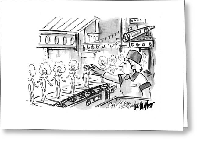 New Yorker October 4th, 1993 Greeting Card