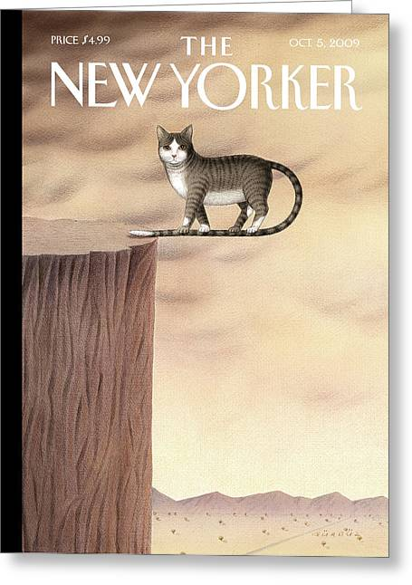 New Yorker October 5th, 2009 Greeting Card