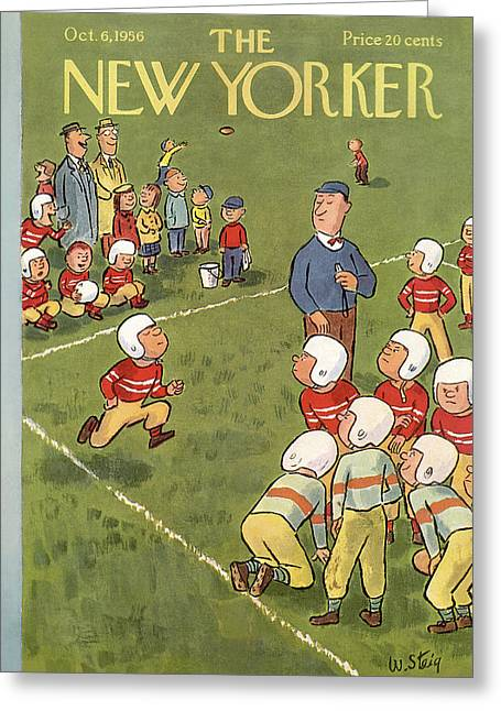 New Yorker October 6th, 1956 Greeting Card