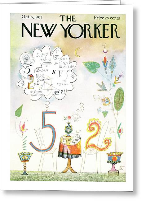 New Yorker October 6th, 1962 Greeting Card