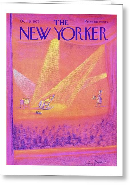 New Yorker October 6th 1975 Greeting Card