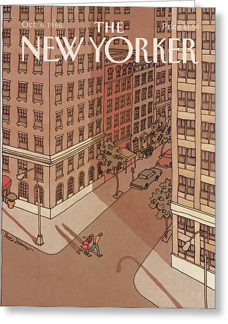 New Yorker October 6th, 1986 Greeting Card