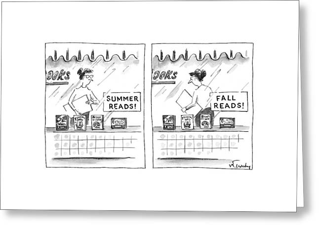 New Yorker October 6th, 1997 Greeting Card by Mike Twohy