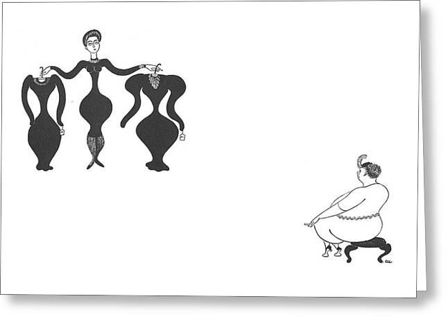 New Yorker October 7th, 1939 Greeting Card by Christina Malman