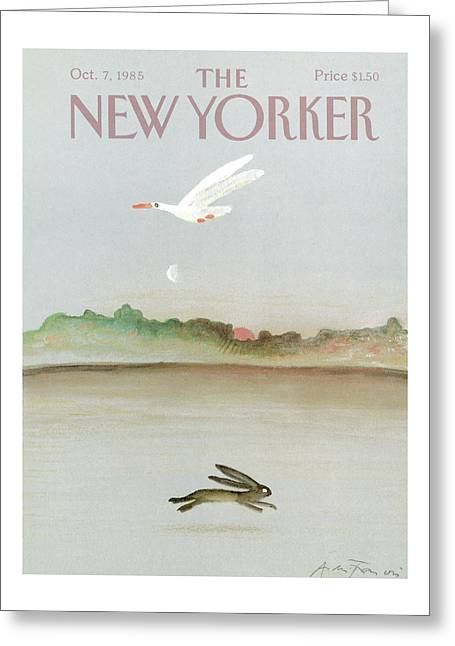 New Yorker October 7th, 1985 Greeting Card