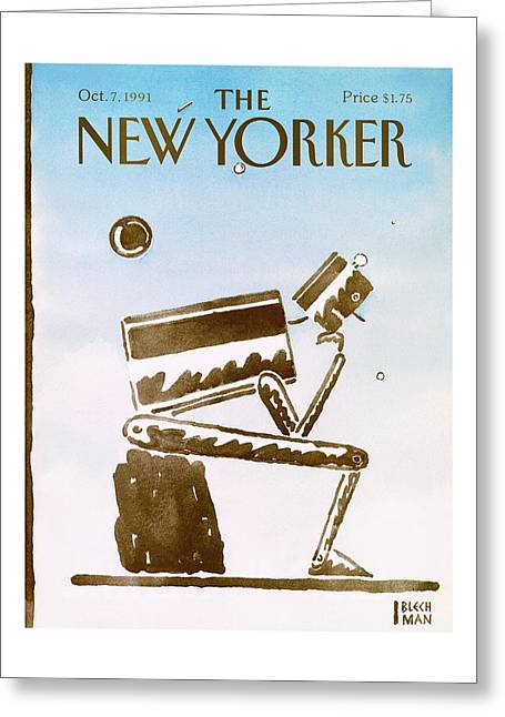 New Yorker October 7th, 1991 Greeting Card